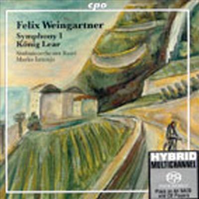바인가르트너 : 교향곡 1번, '리어왕' (Weingartner : Symphony No.1 Op.23, Konig Lear Op.20) (SACD Hybrid) - Marko Letonja