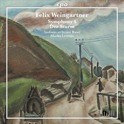 바인가르트너 : 교향곡 4번, 세레나데, '폭풍' 서곡과 조곡 (Weingartner : Symphony No.4, Serenade, 'Der Sturm' Overture & Suite) (SACD Hybrid) - Marko Letonja