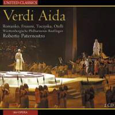 베르디: 오페라 '아이다' (Verdi: Opera 'Aida') (2CD) - Roberto Paternostro