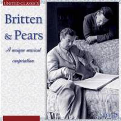 브리튼 작품들을 노래하는 피터 피어스 (Britten & Pears - A Unique Musical Cooperation) (10CD Boxset) - Benjamin Britten