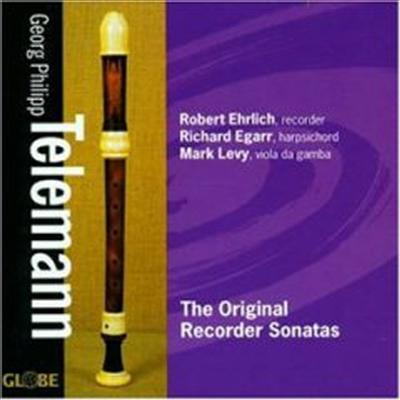 텔레만 : 리코더 소나타 (Telemann : The Original Recorder Sonatas) - Robert Ehrlich