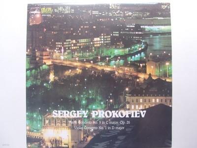 LP(엘피 레코드) 프로코피에프: 피아노 협주곡 3번, 바이올린 협주곡 1번 - 니콜라이 페트로프 / 리아나 이사카제