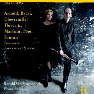 현대 작곡가들의 클라리넷 소나티나 작품집 (Sonatinas Pour Clarinet & Piano) - Ronald Van Spaendonck