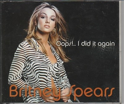 Britney Spears[브리트니 스페이스] / Oops!... I Did It Again (2CD)