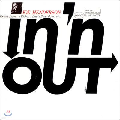 Joe Henderson (조 헨더슨) - In 'N Out [LP]