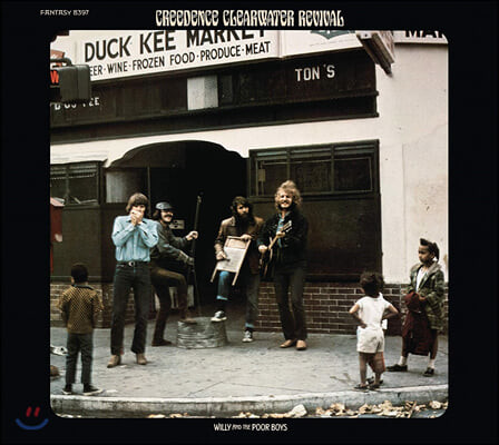 Creedence Clearwater Revival (C.C.R.) - 4집 Willy and the Poor Boys [그린 컬러 LP]