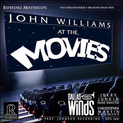 Jerry Junkin & Dallas Winds 존 윌리암스 영화음악 (John Williams: At The Movies) [2LP]