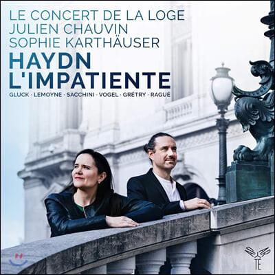 Julien Chauvin 하이든: 교향곡 87번 외 (Haydn: L'Impatiente)