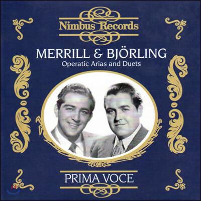 Robert Merrill / Jussi Bjorling 로버트 메릴, 유시 비욜링 - 오페라 아리아와 듀엣곡 (Operatic Arias and Duets)