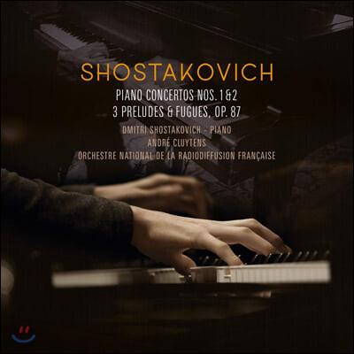 Dmitri Shostakovich 쇼스타코비치: 피아노 협주곡, 전주곡과 푸가 (Shostakovich: Piano Concertos, Preludes and Fugues) [LP]