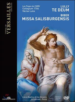 Vaclav Luks 장 밥티스트 륄리: 테 데움 / 하인리히 비버: 미사 살리스부르겐시스 (Lully: Te Deum / Biber: Missa Salisburgensis)