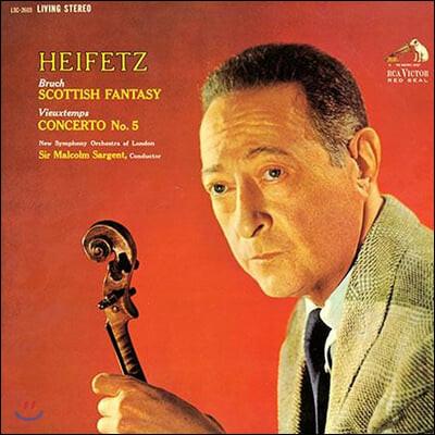 Jascha Heifetz 브루흐: 스코틀랜드 환상곡 - 야사 하이페츠 (Bruch: Scottish Fantasy, Vieuxtemps: Concerto No.5)