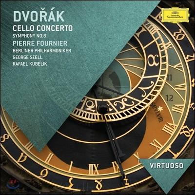 Pierre Fournier / George Szell 드보르작: 첼로 협주곡, 교향곡 8번 (Dvorak: Cello Concerto, Symphony No. 8) 피에르 푸르니에