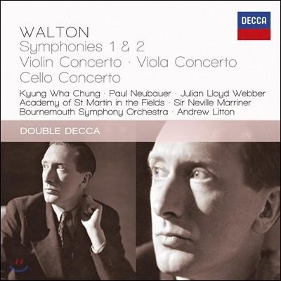 월튼 : 바이올린 협주곡과 교향곡 - 정경화