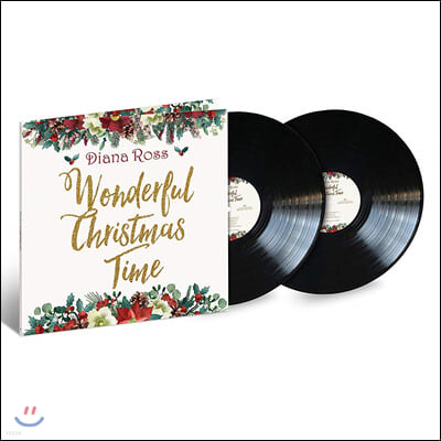 Diana Ross (다이애나 로스) - Wonderful Christmas Time [2LP]