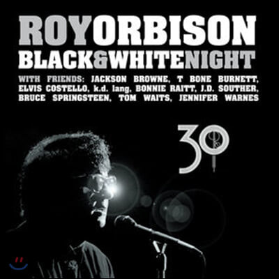 Roy Orbison (로이 오비슨) - Black & White Night 30: Live [2LP]