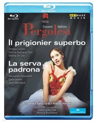 Corrado Rovaris 페르골레지: 하녀에서 마님으로, 명예로운 포로 (Pergolesi: Il Prigionier Superbo, La Serva Padrona)