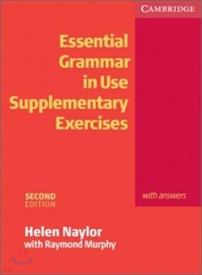 [염가한정판매] Essential Grammar in Use Supplementary Exercises With Answers