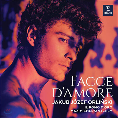 Jakub Jozef Orlinski 카운터 테너 `야쿱 요제프 오를린스키` - 바로크 오페라 아리아 작품집 (Facce d'Amore) [LP]