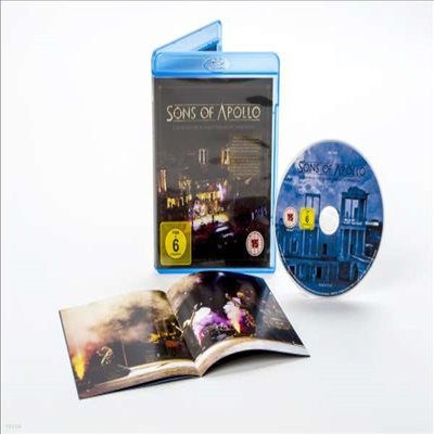 Sons Of Apollo - Live With The Plovdiv Psychotic Symphony(Blu-ray)(2019)