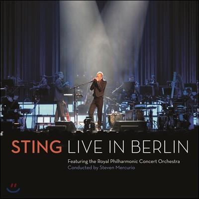 Sting - 베를린 라이브 CD+DVD