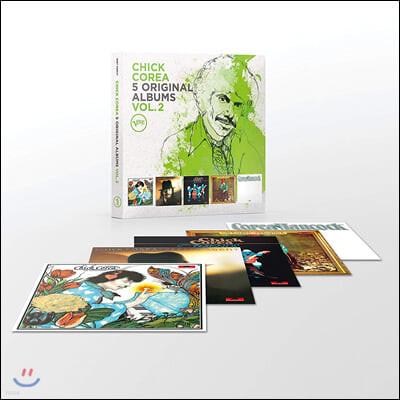 Chick Corea (칙 코리아) - 5 Original Albums Vol. 2