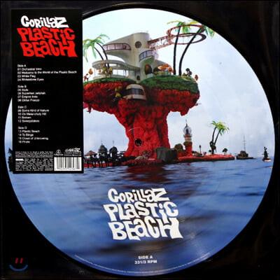 Gorillaz (고릴라즈) - Plastic Beach [픽쳐 디스크 2LP]
