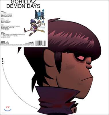 Gorillaz (고릴라즈) - Demon Days [픽쳐 디스크 2LP]