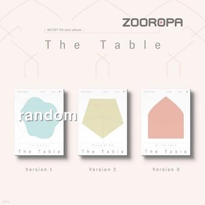 [미개봉] [주로파] 뉴이스트 (NU'EST) 미니앨범 7집 The Table Love Me