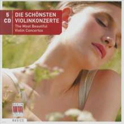 매혹의 바이올린 협주곡 모음집 (Most Beautiful Violin Concertos) (5CD Boxset) - David & Igor Oistrach