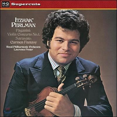 Itzhak Perlman 파가니니 : 바이올린 협주곡 1번 / 사라자테 : 카르멘 환상곡 (Paganini / Sarasate) 이자크 펄만