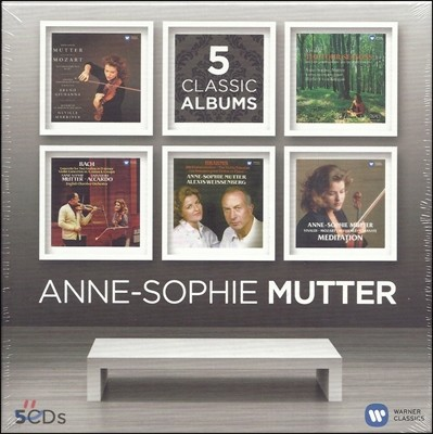 Anne-Sophie Mutter - 5 Classic Albums 안네-소피 무터 (5CD한정반)