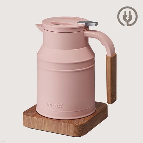 모슈 테이블 전기포트 핑크