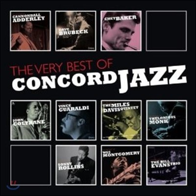 The Very Best Of Concord Jazz (10CD Box Set)