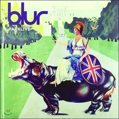 Blur - Parklive (Deluxe Casebound Book)