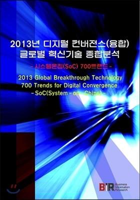 2013년 디지털 컨버전스(융합) 글로벌 혁신기술  종합분석