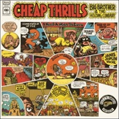 Janis Joplin (Big Brother & The Holding Company) - Cheap Thrills [LP]