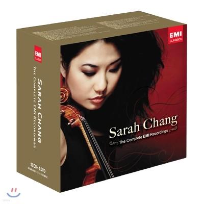 사라 장 EMI 레코딩 전집 19CD+1DVD [한정반]