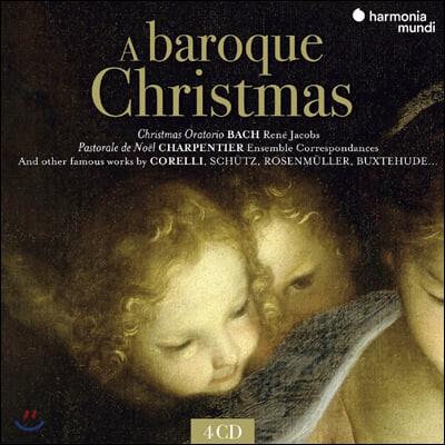 Rene Jacobs 바로크 크리스마스 음악 모음집 (A Baroque Christmas)