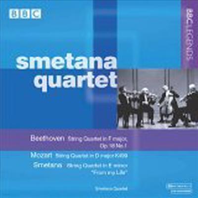 베토벤 : 현악 사중주 1번, 모차르르트: 현악 사중주 2번 ;호ㅗ프마이스터', 스메타나 : 현악 사중주 '나의 생애로부터' (Beethoven : String Quartet No.1 Op.18-1, Mozart : String Quartet No.2 K.499 'Hoffmeist