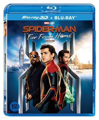 스파이더맨 : 파 프롬 홈 (2Disc 3D + 2D) : 블루레이