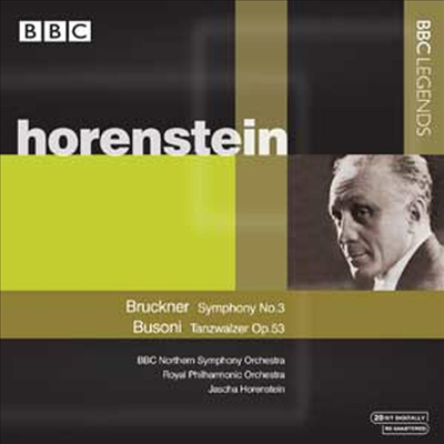 브루크너 : 교향곡 3번, 부조니 : 왈츠 (Bruckner : Symphony No.3, Busoni : Tanzwalzer Op.53) - Jascha Horenstein
