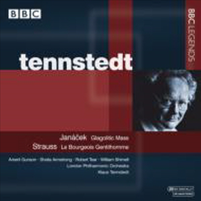 야나체크 : 글라골리트 미사, R.슈트라우스 : 서민 귀족 (Janacek : Glagolitic Mass, R.Strauss : Der Burger als Edelmann) - Klaus Tennstedt