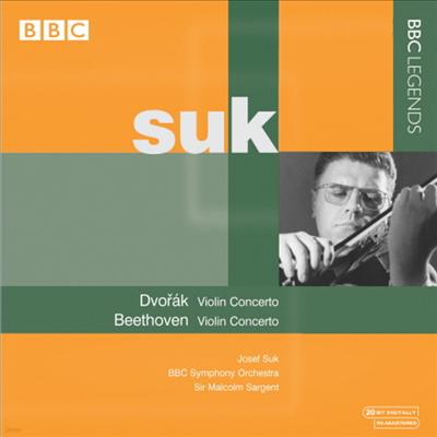 드보르작 & 베토벤 : 바이올린 협주곡 (Dvorak : Violin Concerto) - Josef Suk