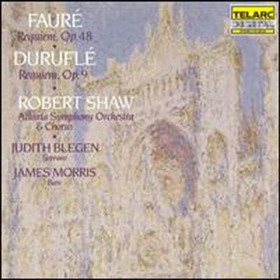 포레, 드뤼플: 레퀴엠 (Faure: Requiem Op.48, Durufle: Requiem Op.9) - Robert Shaw