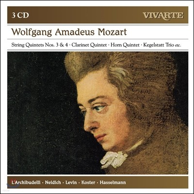 L'Archibudelli 모차르트 : 클라리넷 오중주, 혼오중주, 현악 오중주 3,4번 (Mozart: String Quintets, Clarinet Quintet, Horn Quintet)
