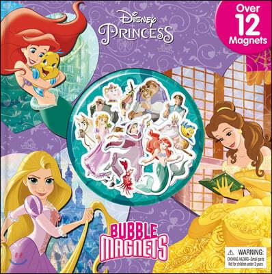 Disney Princess Bubble Magnets : 디즈니 프린세스 마그넷 북