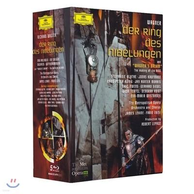 James Levine / Fabio Luisi 바그너: 니벨룽겐의 반지 전곡 (Wagner: Der Ring des Nibelungen)