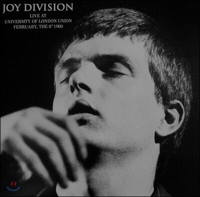 Joy Division (조이 디비전) - Live At University Of London Union, February The 8th 1980 [LP]