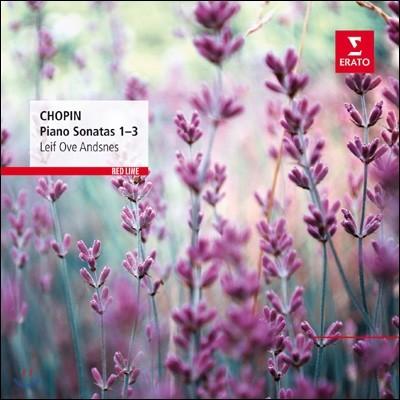 Leif Ove Andsnes 쇼팽: 피아노 소나타 1-3번 (Chopin: The 3 Piano Sonatas Opp. 4, 35, 58) 레이프 오베 안스네스